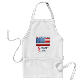 Washington D.C. (Doesn't Care)  products Adult Apron