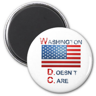 Washington D.C. (Doesn't Care)  products Magnet