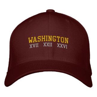 Washington D.C. Embroidered Baseball Caps