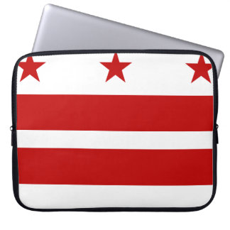 Washington, D.C Flag Laptop Sleeve
