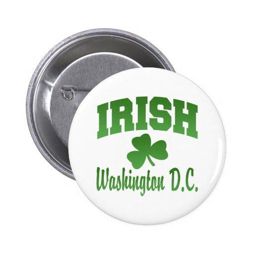 Washington D.C. Irish Button