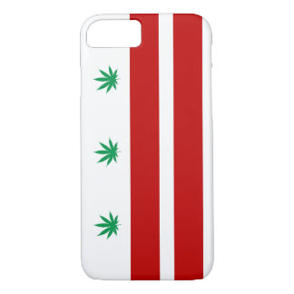 Washington D.C. Pot Leaf Flag iPhone 7 Case