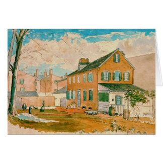 Washington D.C. Square 1874 Card