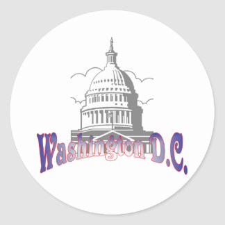 Washington D.C. Sticker