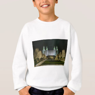 Washington D.C. Temple at Night Sweatshirt