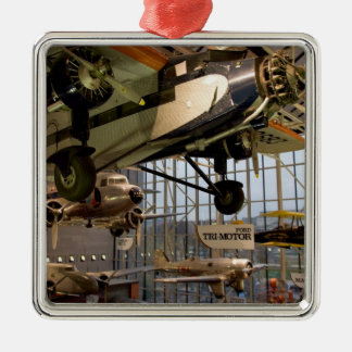 WASHINGTON, D.C. USA. Aircraft displayed in Metal Ornament