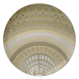 WASHINGTON, D.C. USA. Interior of Union Station. Party Plate