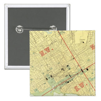 Washington, DC 15 Cm Square Badge