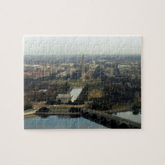 Washington DC Aerial Photograph Jigsaw Puzzle