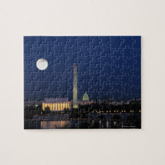 Washington DC at Night Jigsaw Puzzle