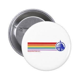 Washington DC 6 Cm Round Badge