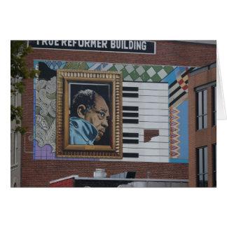 Washington DC, building art, True Reformer Bldg Card