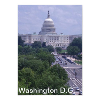 Washington DC capital post card