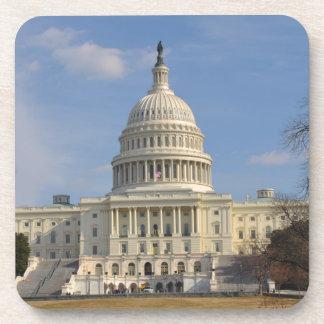 Washington DC Capitol Hill Building Beverage Coaster