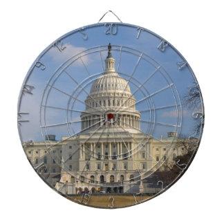 Washington DC Capitol Hill Building Dart Boards