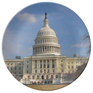Washington DC Capitol Hill Building Plate