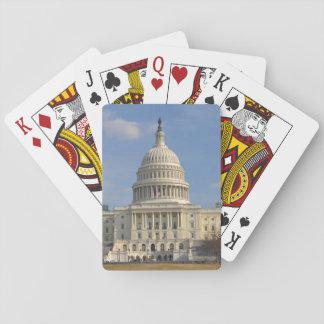 Washington DC Capitol Hill Building Poker Deck