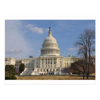 Washington DC Capitol Hill Building Postcard