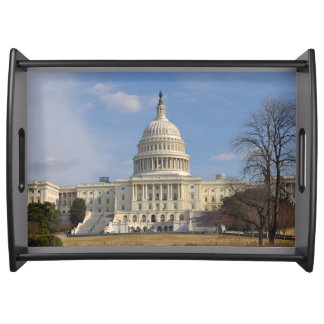 Washington DC Capitol Hill Building Serving Tray