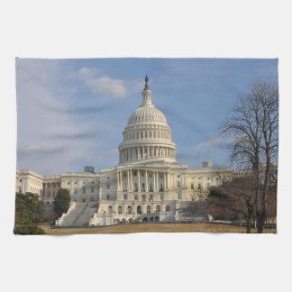 Washington DC Capitol Hill Building Tea Towel