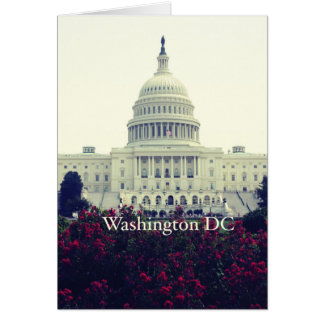 Washington DC Card