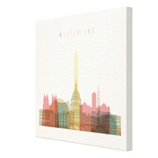 Washington, DC | City Skyline Canvas Print