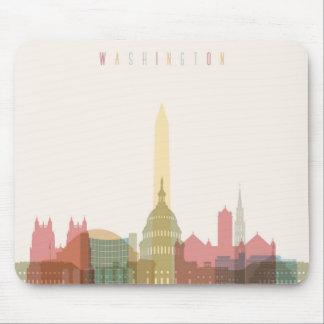 Washington, DC | City Skyline Mouse Pad