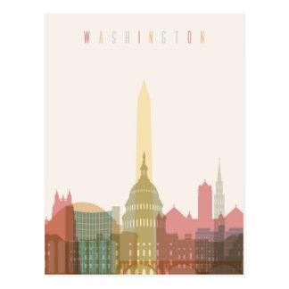Washington, DC | City Skyline Postcard