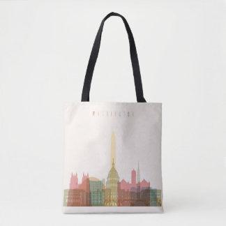 Washington, DC | City Skyline Tote Bag