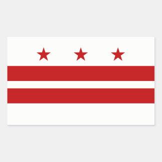 Washington DC/D.C. District Columbia United States Rectangular Sticker