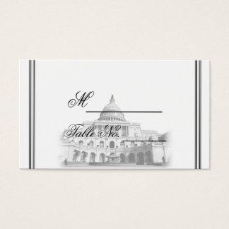 Washington DC Destination Wedding Place Card