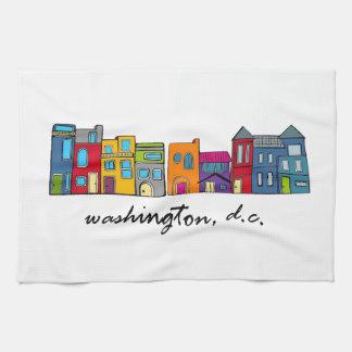 Washington, DC Dishtowel Tea Towel