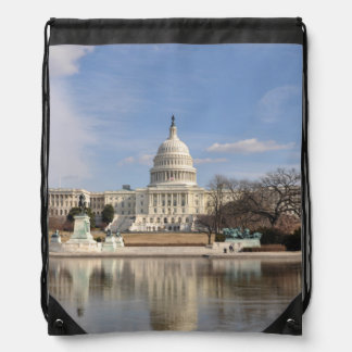 Washington DC Drawstring Bag