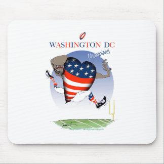 Washington DC football champs, tony fernandes Mouse Pad