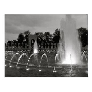 Washington DC Fountain Postcard