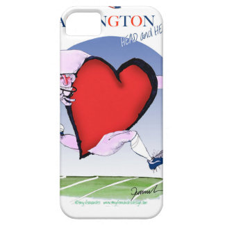 Washington DC head heart, tony fernandes iPhone 5 Case