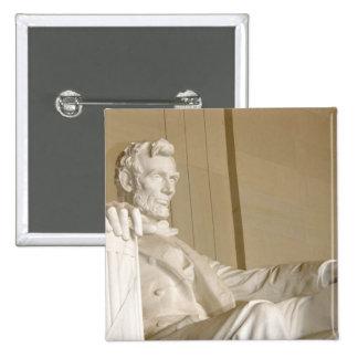 Washington, DC, Lincoln Memorial 15 Cm Square Badge