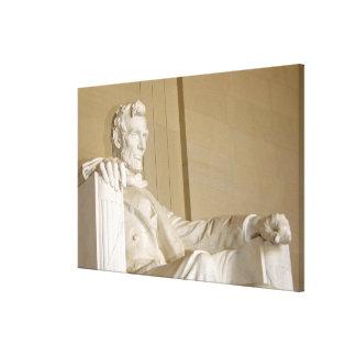 Washington, DC, Lincoln Memorial Gallery Wrapped Canvas