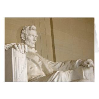 Washington, DC, Lincoln Memorial Greeting Card
