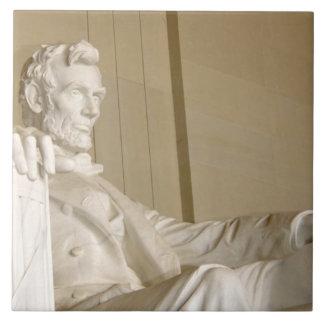 Washington, DC, Lincoln Memorial Large Square Tile