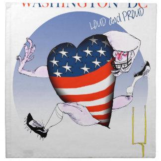Washington DC loud and proud, tony fernandes Napkin