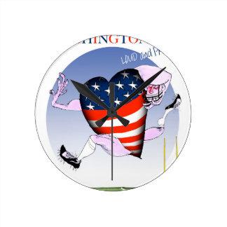 Washington DC loud and proud, tony fernandes Wallclocks