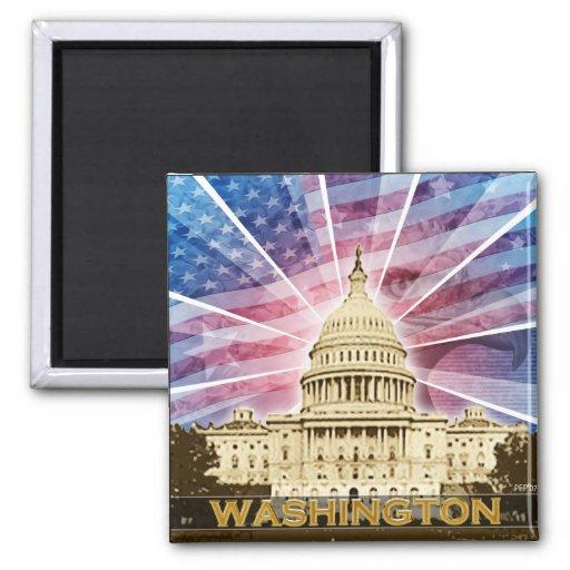 Washington DC Refrigerator Magnets