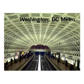 Washington, DC: Metro Station Postcard