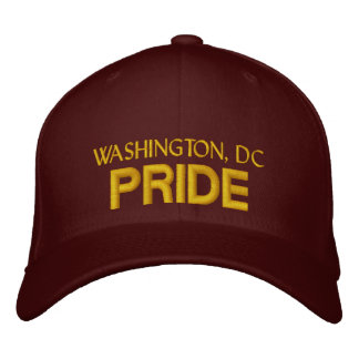 Washington DC Pride Cap Embroidered Hats