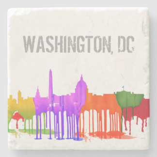 WASHINGTON DC PUDDLES - STONE COASTER