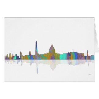 Washington, DC Skyline Card