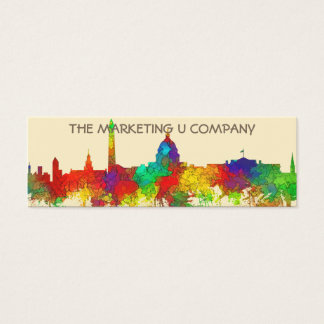 WASHINGTON DC SKYLINE - SG - Business cards