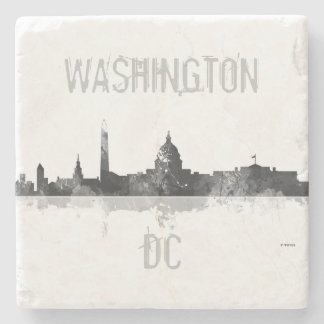 WASHINGTON DC SKYLINE STONE COASTER