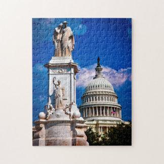 Washington DC. State Capital. Jigsaw Puzzle